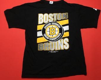 Boston bruins shirt etsy for Boston bruins vintage shirt