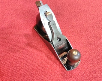 "Stanley Sweetheart Hand Plane Bailey No. 4 Type 13 9"" Corrugated Bottom Bench Plane"