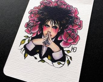 Post card Tattoo Flash fine art print Robert Smith the Cure