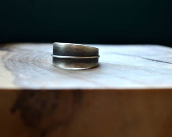 Sterling silver ring-Olive leaf ring-Minimal-Hand sculpted-Jewelry