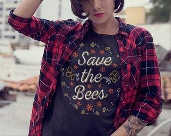 Save the Bees Shirt / Save The Bees Tshirt / Environmental Shirt / Climate Change Shirt / Activism Shirt / Bee Shirt / Beekeeper Gift /