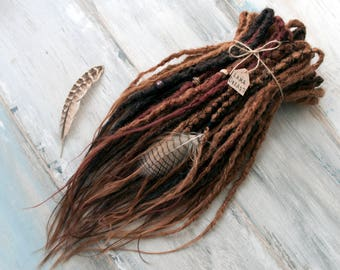 Synthetic Crochet Double Ended Dreads Full set