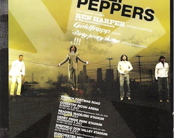 Red Hot Chilli Peppers Poster A3  or A4 Matt