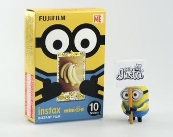 Fujifilm Instax Film Mini Minion - For Instax Mini 7, 8, 8+, 25, 50, 70, 90, SP-1 and Polaroid PIC 300