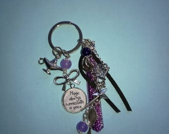 """keychain """"Magic always comes with a price"""""""