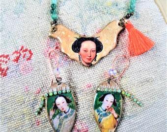 Ming dynasty set parure