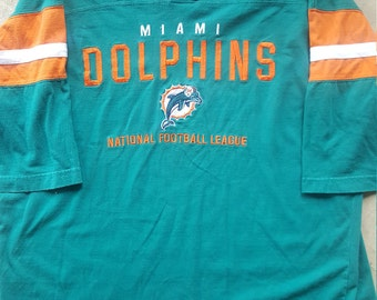 Miami Dolphins Vtg Jersey Shirt