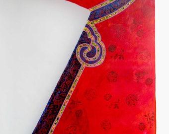 beautiful Red Chinese dress