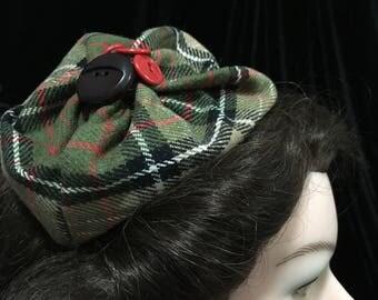 Plaid Slouch Hat