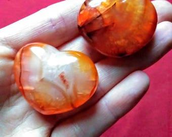 Carnelian Heart/ Be My Valentine
