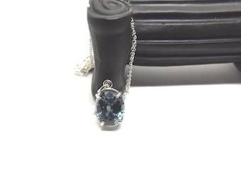 13 x 10 mm Natural Alexandrite Necklace