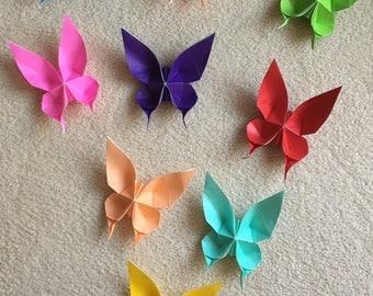 100 Origami Butterflies