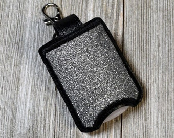 Hand Sanitizer Holder, Accessory Case Sanitizer, Pocketbac Holder, Sanitizer Keychain, Diaper Bag Accessory, Key Chain Snap On, Key Fob