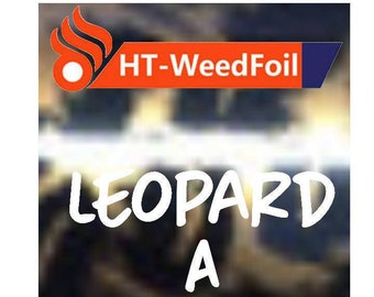 HT WeedFoil Heat Transfer Vinyl - Iron On - HTV - Leopard A Foil