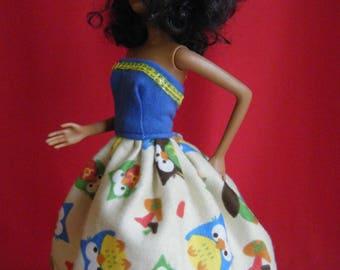 Barbie Dress, barbie clothes, barbie doll clothes, barbie gown, barbie dolls, fashion doll clothes, barbie doll dresses, barbie doll