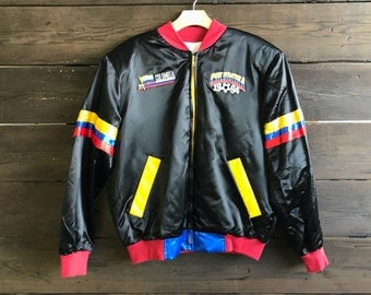 Vintage 90s Champion Colombia Jacket