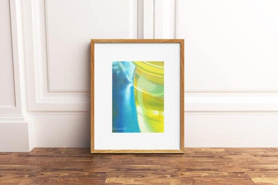 Abstract art, original pastel on Pastelmat paper by Francesca Licchelli, gift idea for him, home office modern decoration, wall art, decore.