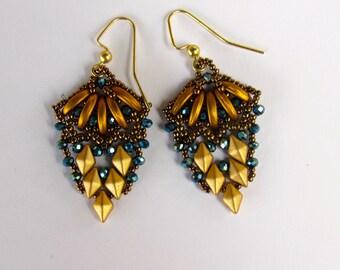 Lovely Diamond Duo Earrings