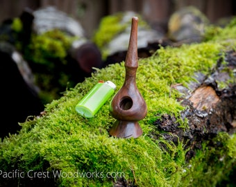 Potbelly Black Walnut Pipe , Wood Pipe, cool pipe, wooden pipe, Tobacco pipe, Unique pipe, wood pipe, smoking pipe