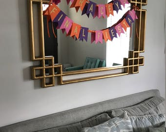 Personalized Bachelorette Party Banner | Final Fiesta | Decor