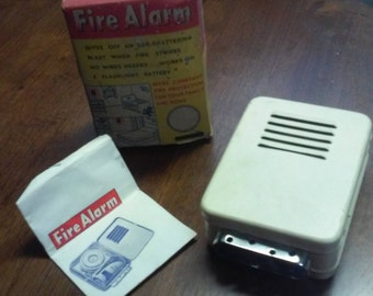 Vintage /Antique Fire Alarm in box with instructions.