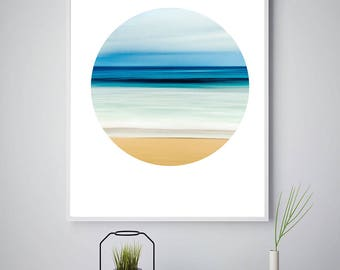 Beach Decor, Beach Print, Digital Beach Art, Ocean Photography, Beach Wall Art, Tropical Decor, Downloadable Poster, Large File