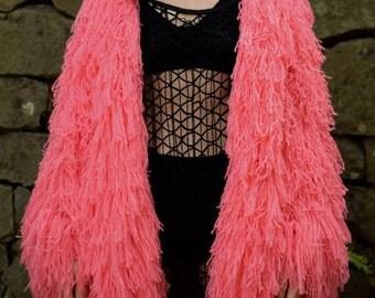 Pink Shag Etsy