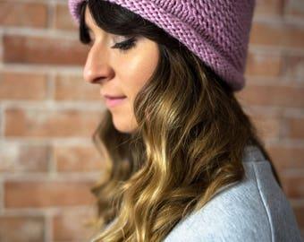 Hand Knit Hat, Alpaca, Wool, Chunky Knit Hat, Pom Pom, Knitting, Handknit, Winter hat, Winter Cap, CAP N2