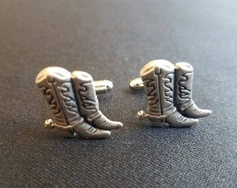 Cowboy Boot Cuff Links