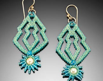 Mayan Earrings Tutorial
