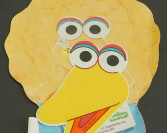 Old Wilton Big Bird Cake Party Pan, Muppet Birthday, Bake, Decorate, Party, Vintage Retro 503-9407, Cartoon Character Shaped Themed, Novelty