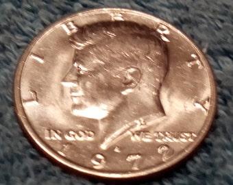 1972-D Kennedy Half Dollar