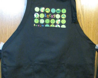 Death Wish Coffee Lucky Larry Apron