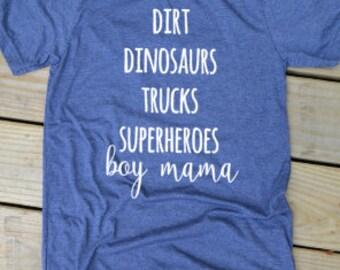 Boy Mom Shirt, Boy Mama Shirt, Boymom Shirt, Mom Life Shirt