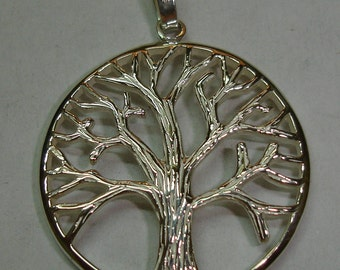 Hanging Tree of Life, sterling leg, 925