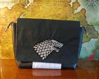 GOT Inspired Stark Small Messenger Bag (Free Shipping)