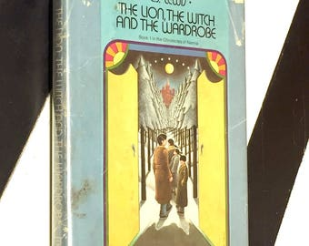 The Lion, the Witch and the Wardrobe by C. S. Lewis (1950) hardcover book