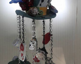 Mad Hatter's Tea Party Wind Chime