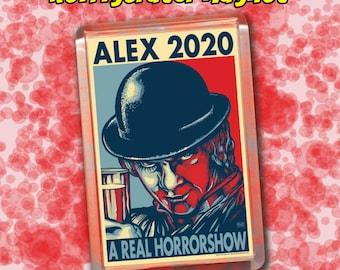 "ALEX 2020 Election Magnet - 2""x3"" Acrylic magnet - A Clockwork Orange"