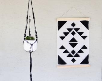 DIY kit: Macrame hanging basket incl. vascular