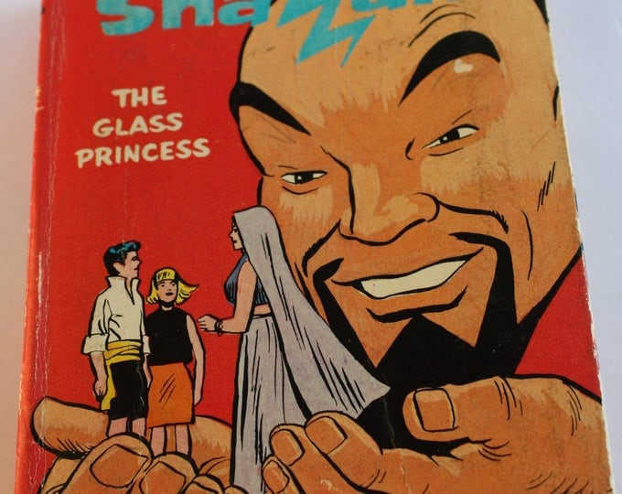 Hanna-barbera's SHAZAM The Glass Princess Whitman Big Little Book #2024 Hardcover 1968