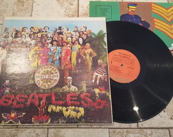 The Beatles SGT Peppers Lonely Hearts Club Band Capital Records