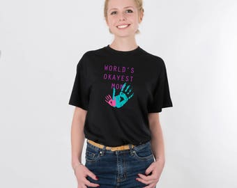 Mom Shirt Maternity Shirt Worlds Okayest Mom Mom Tee Mom Gift Mama Shirt Mom Life Shirt Mommy Tee Mother Gift Graphic Tee PA1011
