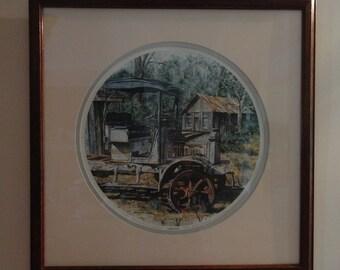 Grandpa's by Gordon Wheeler The scene is from Daufuskie Island, South Carolina