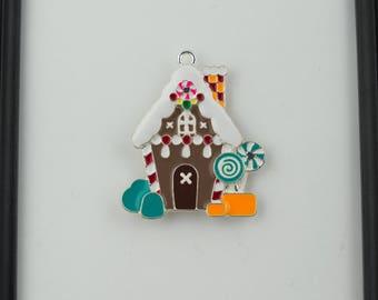 Gingerbread House Needleminder / House Needleminder / Christmas Needle Minder