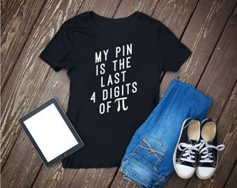 Pi, last four digits, pi day, pin