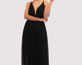 Basic Black Prom Dresses