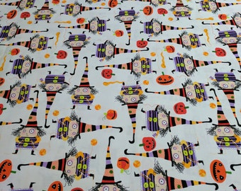 Stitchy Witchy Haunts Cotton Fabric from Robert Kaufman Fabrics