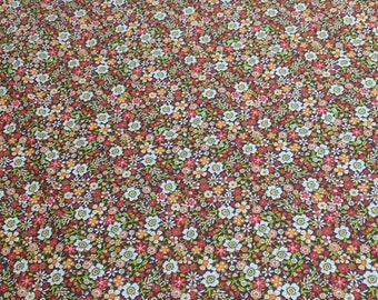 Flowers All Over Cotton Fabric