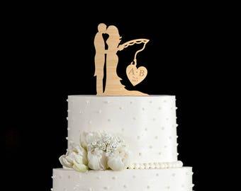 Fishing wedding cake topper,wedding fishing cake topper,wedding fishing cake,fishing wedding topper,fishing cake topper,fishing cake,6902017